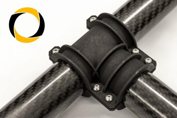 Carbon Rohr T-Verbinder Gimbal